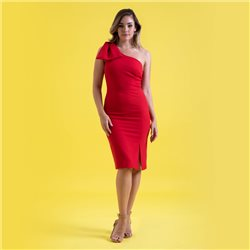 Mellaris Tessa Dress Red