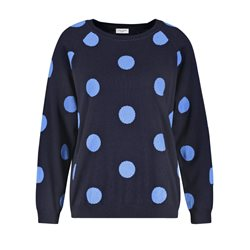 Gerry Weber Dot Print Jumper Blue