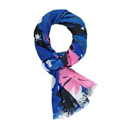 Gerry Weber Mixed Pattern Scarf Blue