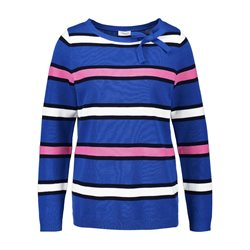 Gerry Weber Sporty Striped Jumper Blue