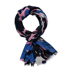 Gerry Weber Floral Print Scarf Blue