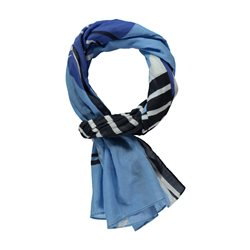 Gerry Weber Striped Scarf Blue