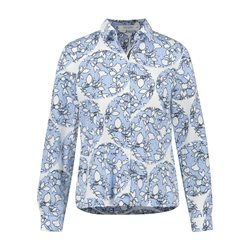 Gerry Weber Abstract Floral Print Shirt White