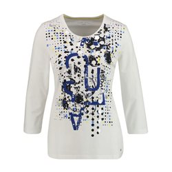 Gerry Weber Abstract Printed Top White