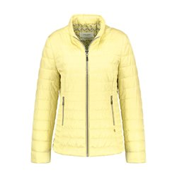 Gerry Weber Lightly Quilted Jacket Light Yellow