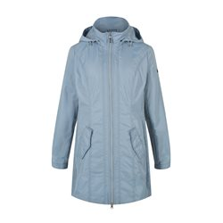 Olsen Water Repellent Coat Blue