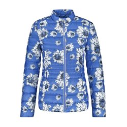 Gerry Weber Quilted Floral Jacket Blue