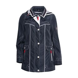 Lebek Weatherproof Coat Navy
