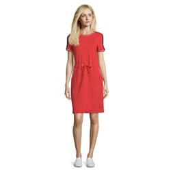 Betty Barclay Sporty Jersey Dress Red