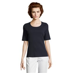 Betty Barclay Fine Ribbed Top Navy