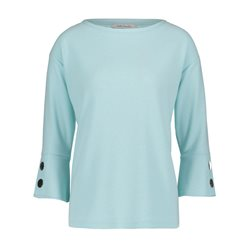 Betty Barclay Fine Ribbed Sweater Light Blue