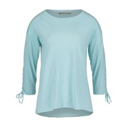 Betty Barclay Tie Cuff Top Light Blue