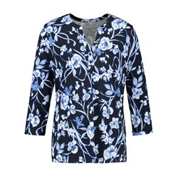 Gerry Weber Bold Floral Blouse Blue