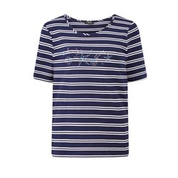 Emreco Striped Top Navy