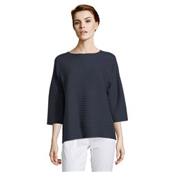 Betty Barclay Ribbed Knit Jumper Navy