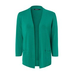Olsen Edged Cardigan Green