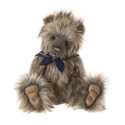 Charlie Bears Skipper Plush Collection Brown