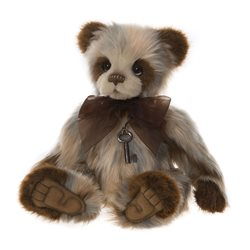 Charlie Bears Candice Plush Collection Brown