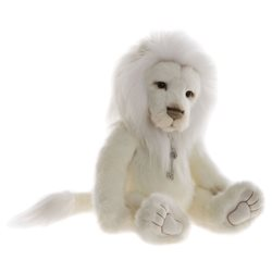 Charlie Bears Dandy Plush Collection White