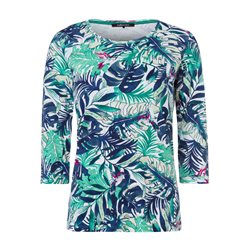Olsen Tree Print Top Green