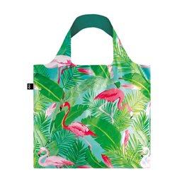 225ca1105a7d Loqi Wild Flamingos Bag Green
