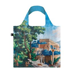 Loqi Mad Landscape Of Telemaque In Calypso Island Bag Blue