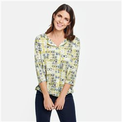 Gerry Weber Printed Top Yellow