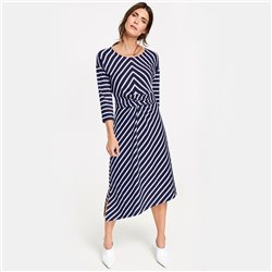 Gerry Weber Striped Dress With Knot Detai Blue