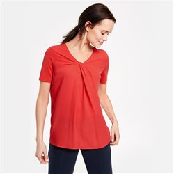 Gerry Weber Braided Detail Top Red