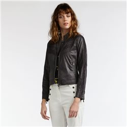 Sandwich Biker Jacket Grey