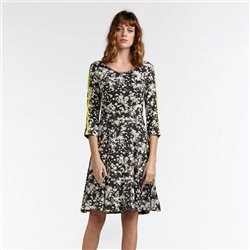 Sandwich Elegant Millefleur Dress Grey
