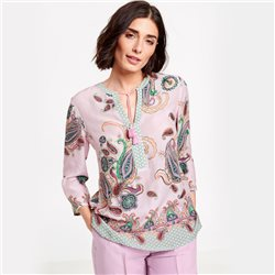 Gerry Weber Paisley Patterned Blouse Pink