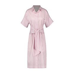 Gerry Weber Shirt Dress With Tie Belt Pink