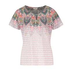Gerry Weber Tribal Print Top Pink
