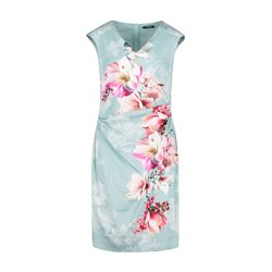 Vera Mont Floral Dress Blue