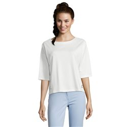 Betty Barclay Button Trimmed Top White