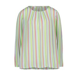 Betty Barclay Pastel Stripe Blouse Green
