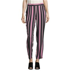 Betty Barclay Striped Trousers Black