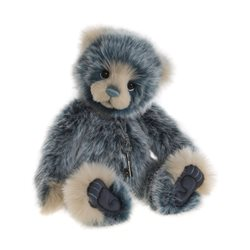 Charlie Bears Muffin Plush Collection Blue