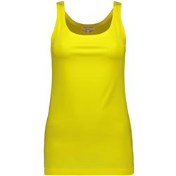 Sandwich Vest Top Yellow