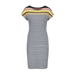 Gerry Weber Stripe Jersey Dress Blue