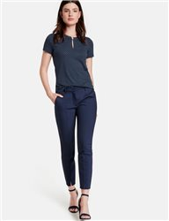 Taifun Skinny Stretch Trouser Navy