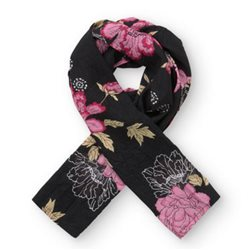 Masai Along Floral Scarf Red
