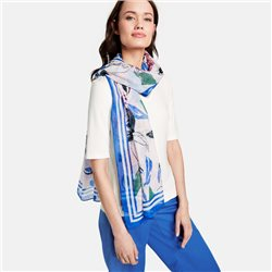 Gerry Weber Floral Pattern Scarf Blue