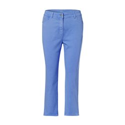 Olsen Cropped Summer Trousers Blue