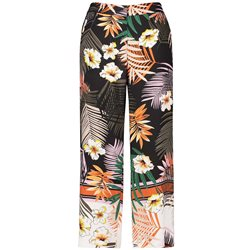Gerry Weber Jungle Print Trousers Brown