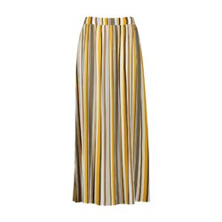 Taifun Striped Maxi Skirt Yellow