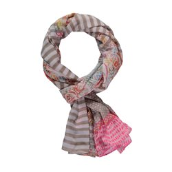 Gerry Weber Multi Print Scarf Pink