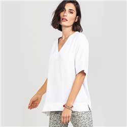 Olsen Shirt Blouse Top White