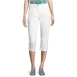 Betty Barclay Cropped Jeans White